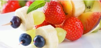 Verse Fruitsalades en Fruitspiezen