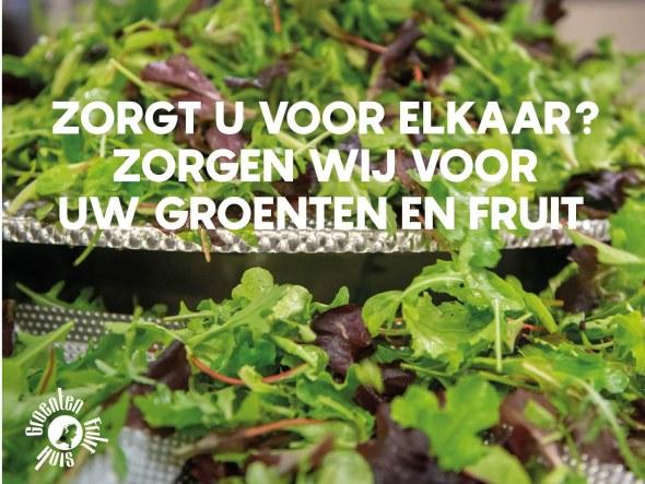 Ook nu zorgen wij graag voor uw groenten en fruit!