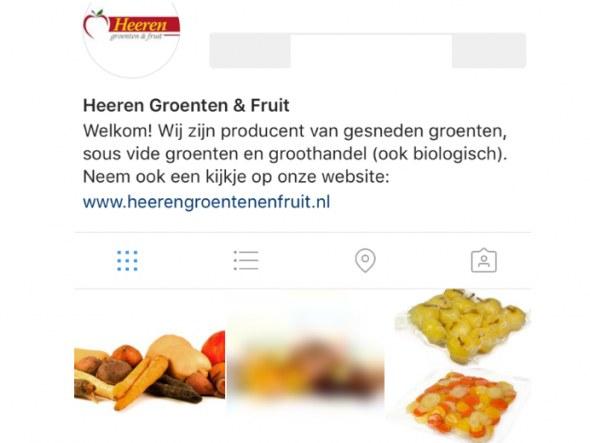 Heeren G&F ook op Instagram